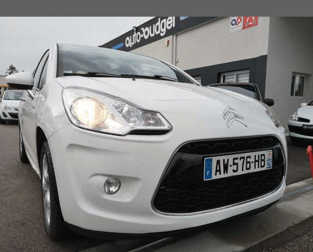 Citroën Ctroën C3 REPRISE POSS II 1.6 HDi 110 FAP Airplay TOIT PANORAMIQUE